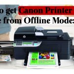 How to get Canon Printer Back Online from Offline Mode: